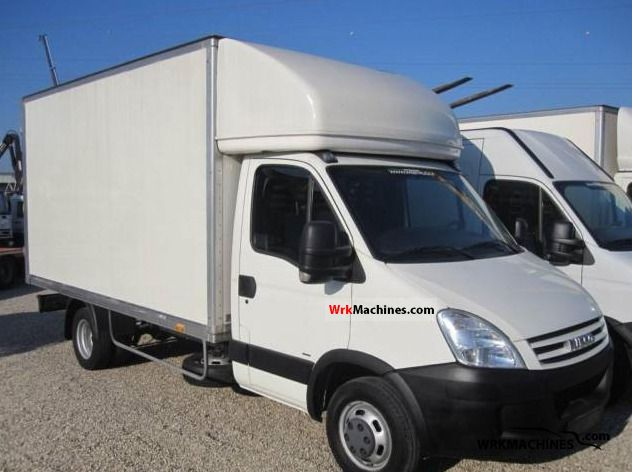 2007 IVECO Daily II 35 C 15 Van or truck up to 7.5t Box-type delivery van photo