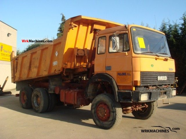 1990 IVECO P/PA 330-30 Truck over 7.5t Tipper photo