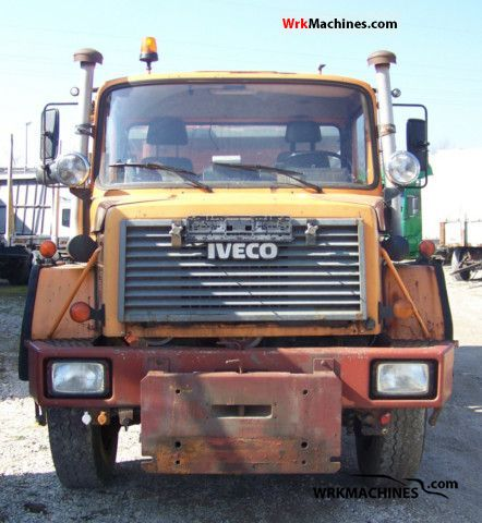 1993 IVECO P/PA 170-23 Truck over 7.5t Tipper photo