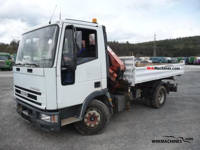 2000 IVECO EuroCargo 80 E 15 K Truck over 7.5t Tipper photo