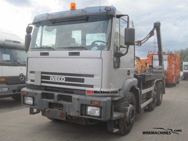2001 IVECO EuroTrakker 190 Truck over 7.5t Dumper truck photo