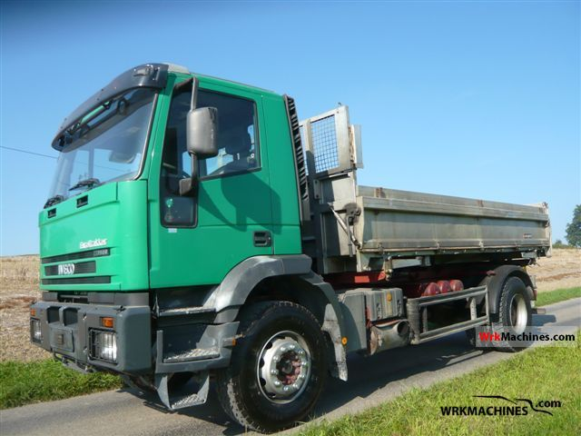 2002 IVECO EuroTrakker 190 Truck over 7.5t Three-sided Tipper photo