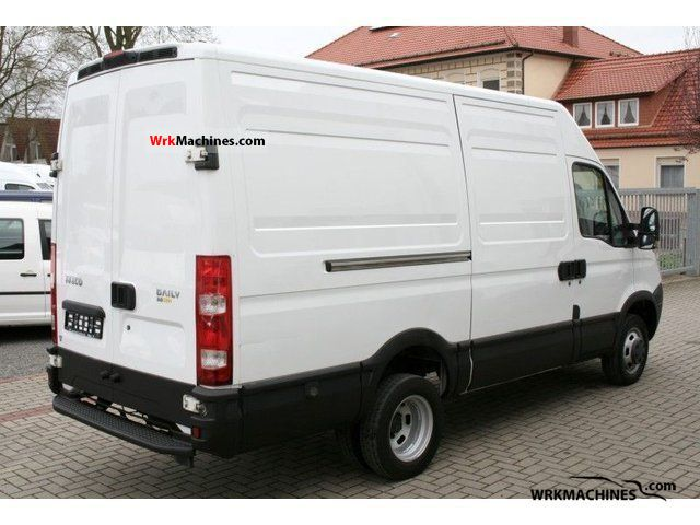 2007 IVECO Daily II 50 C 15 Van or truck up to 7.5t Box-type delivery van - high and long photo