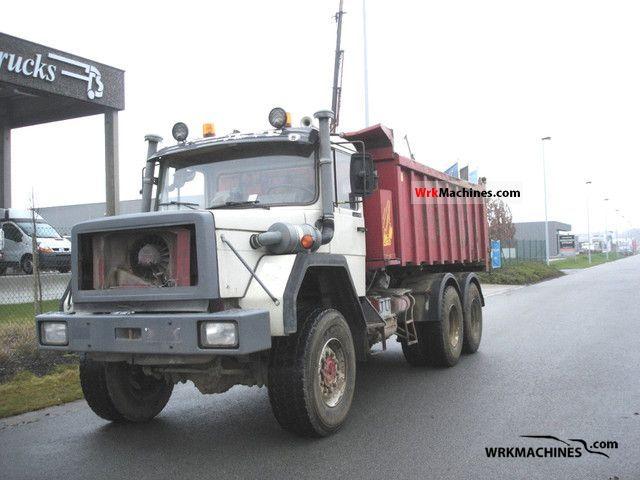 1989 IVECO P/PA-Haubenfahrzeuge 330-30 ANW Truck over 7.5t Tipper photo