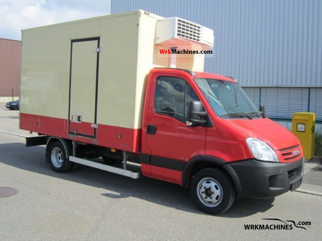 2006 IVECO Daily II 50 C 15 Van or truck up to 7.5t Refrigerator body photo