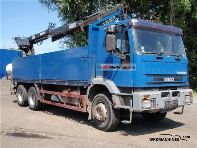 1994 IVECO EuroTrakker 260 E 30 Truck over 7.5t Stake body photo