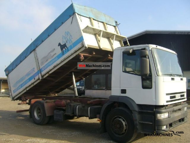 2003 IVECO EuroTrakker 190 Truck over 7.5t Three-sided Tipper photo