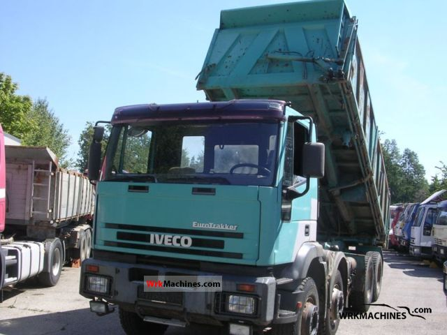 1995 IVECO EuroTrakker 340 E 37 Truck over 7.5t Tipper photo