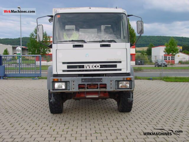 1995 IVECO EuroCargo 95 E 15 Truck over 7.5t Stake body and tarpaulin photo