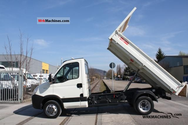2008 IVECO Daily III 35C10 Van or truck up to 7.5t Tipper photo