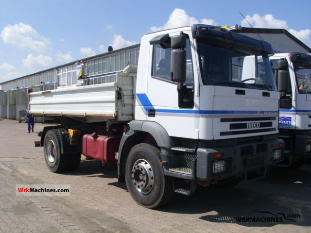 2001 IVECO EuroTrakker 190 Truck over 7.5t Three-sided Tipper photo