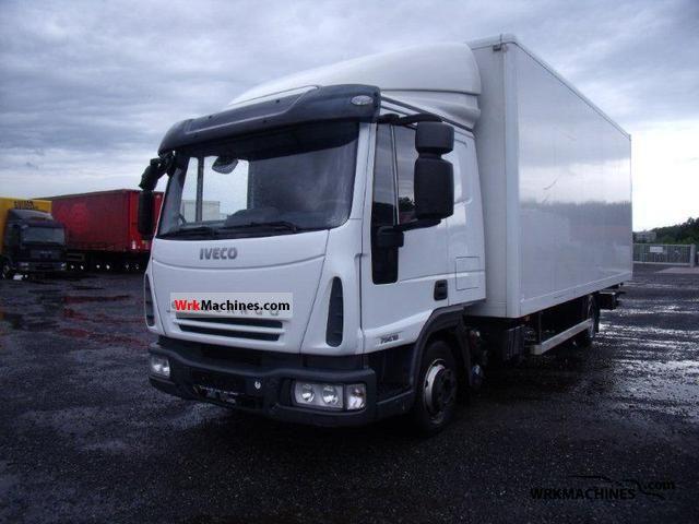 2008 IVECO EuroCargo 75 E 18 Truck over 7.5t Box photo