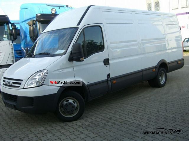 Iveco Daily Iii 35c18 2010 Box Type Delivery Van High