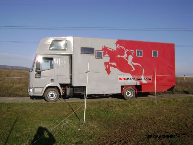 1998 IVECO EuroCargo 75 E 14 Truck over 7.5t Horses photo