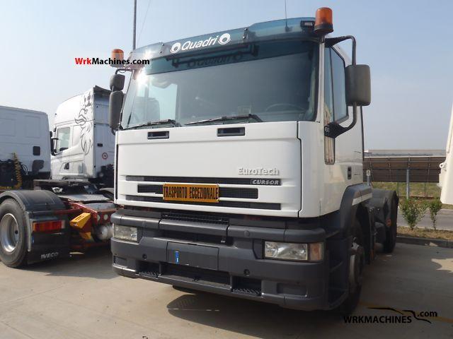 2002 IVECO EuroStar 440 Semi-trailer truck Heavy load photo