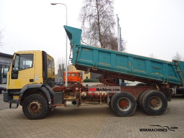 1999 IVECO EuroTrakker 380 E 34 Truck over 7.5t Tipper photo