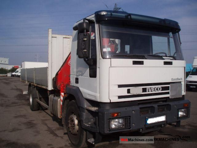 2002 IVECO EuroTech MH MH 190 E 24 K Truck over 7.5t Stake body photo