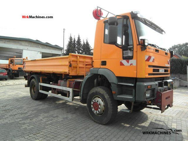 1996 IVECO EuroTrakker 190 E 30 Truck over 7.5t Tipper photo