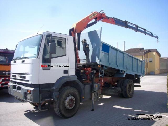 2002 IVECO EuroTrakker 190 Truck over 7.5t Truck-mounted crane photo