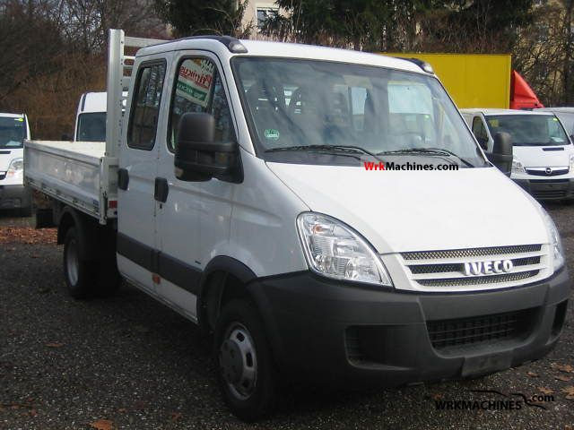 2008 IVECO Daily II 35 C 15 Van or truck up to 7.5t Three-sided Tipper photo