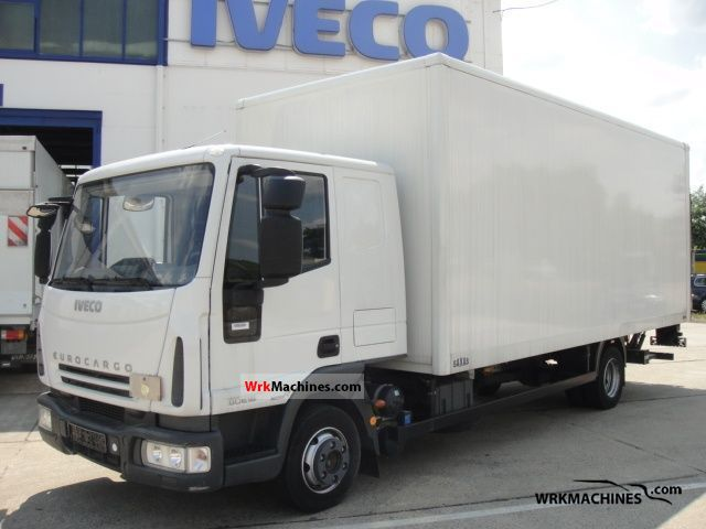 2008 IVECO EuroCargo 80 E 18 Truck over 7.5t Box photo