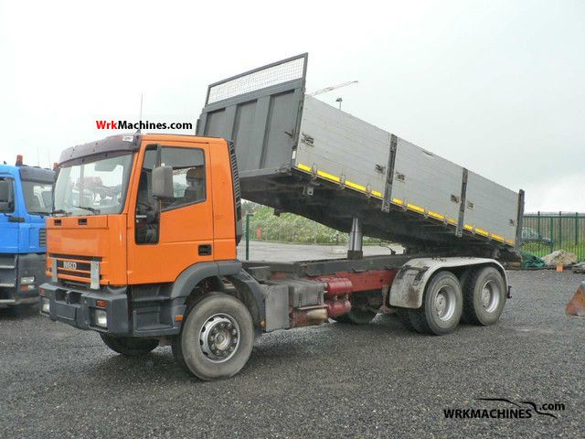 1994 IVECO EuroTrakker 260 E 30 Truck over 7.5t Tipper photo