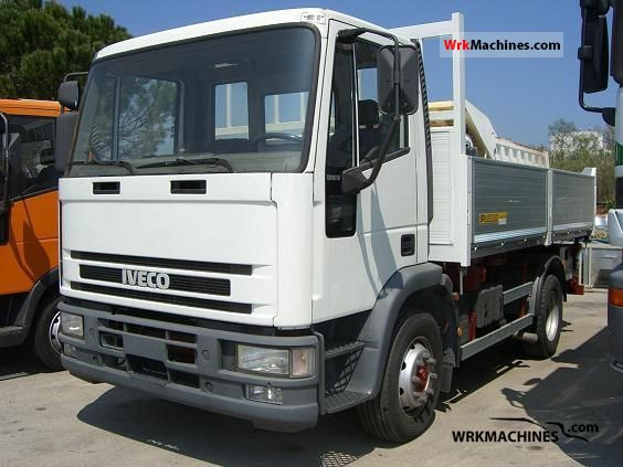 1993 IVECO EuroCargo 120 E 18 Truck over 7.5t Three-sided Tipper photo