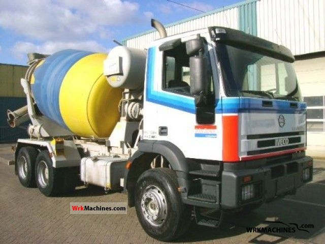 2000 IVECO EuroTech MH 260 E 31 Truck over 7.5t Cement mixer photo
