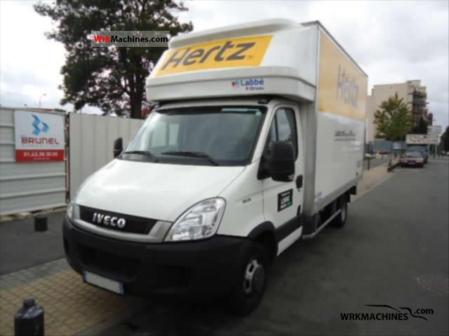 2011 IVECO Daily III 35C15 Van or truck up to 7.5t Box photo
