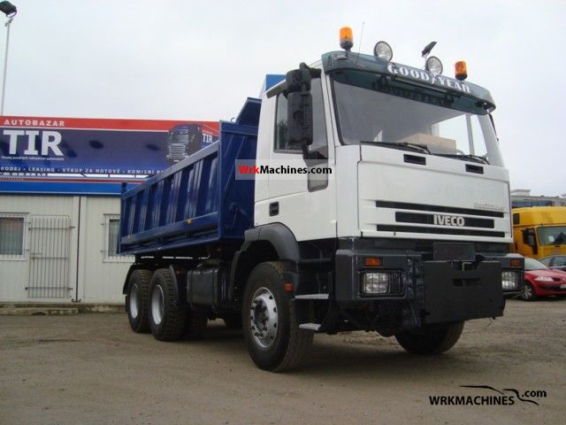 1999 IVECO EuroTrakker MP 260 E 42 H Truck over 7.5t Tipper photo