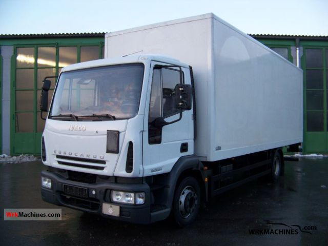 2006 IVECO EuroCargo 120 E 24 Truck over 7.5t Box photo