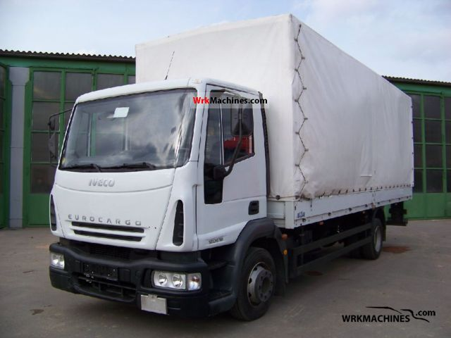 2006 IVECO EuroCargo 120 E 18 Truck over 7.5t Stake body and tarpaulin photo