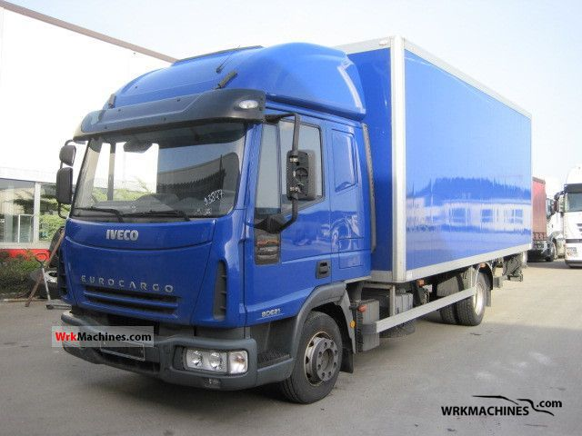 2006 IVECO EuroCargo 80 E 21 Truck over 7.5t Refrigerator body photo