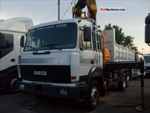 1991 IVECO TurboStar 190-36 Truck over 7.5t Three-sided Tipper photo