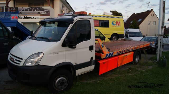 2007 IVECO Daily III 65C15 Van or truck up to 7.5t Car carrier photo