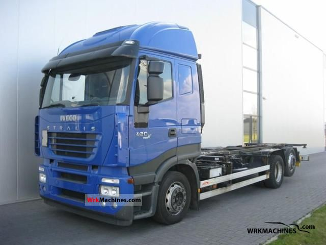 2006 IVECO Stralis 440S42 Truck over 7.5t Swap chassis photo