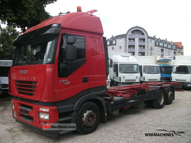 2006 IVECO Stralis 260S42 Truck over 7.5t Swap chassis photo