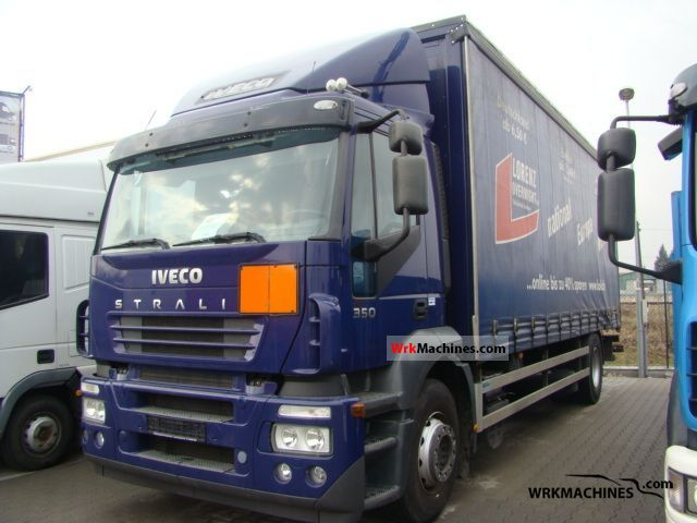 2006 IVECO Stralis 190S35 Truck over 7.5t Stake body and tarpaulin photo