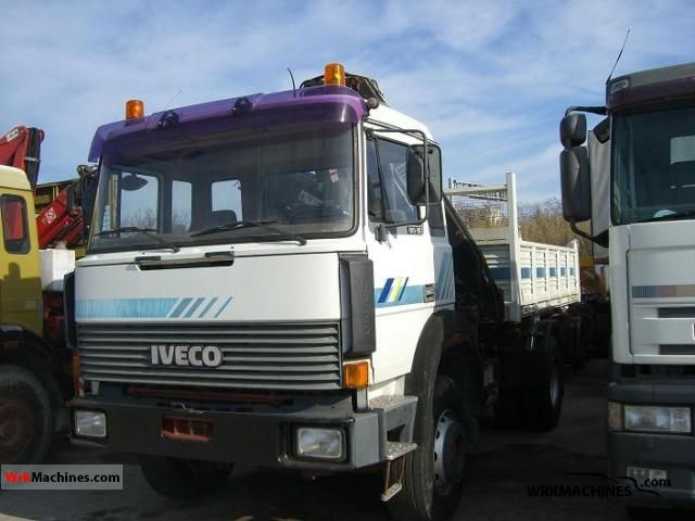 1990 IVECO P/PA 190-30 Truck over 7.5t Roll-off tipper photo