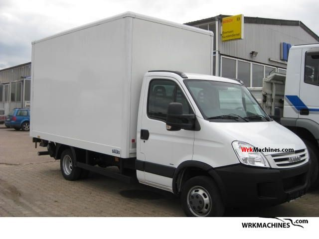 2009 IVECO Daily II 50 C 15 Van or truck up to 7.5t Box photo