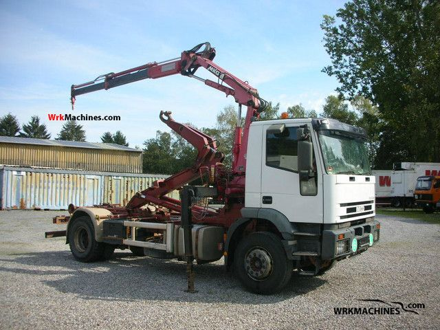 2000 IVECO EuroTech MH 190 E 35 Truck over 7.5t Roll-off tipper photo