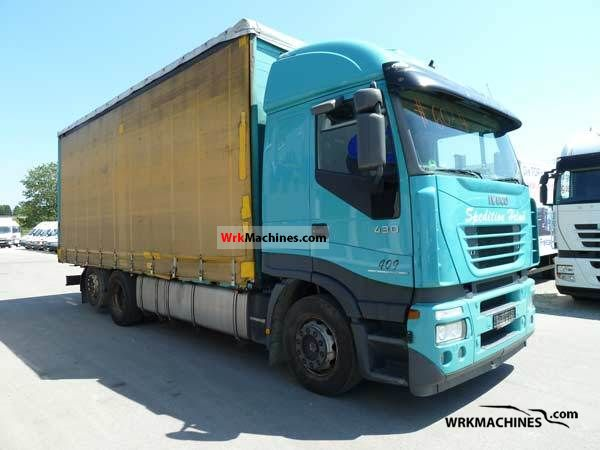 2006 IVECO Stralis 260S42 Truck over 7.5t Stake body and tarpaulin photo