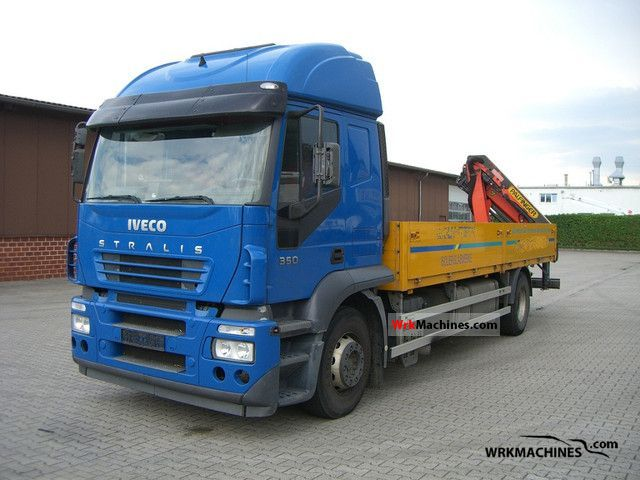 2005 IVECO Stralis 190S35 Truck over 7.5t Stake body photo