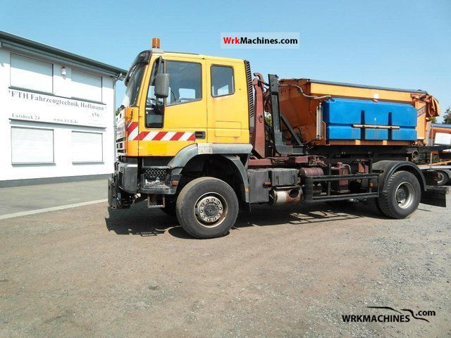 1998 IVECO EuroTech MP 190 E 34 Truck over 7.5t Roll-off tipper photo