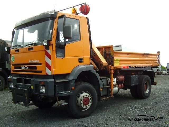 1999 IVECO EuroTrakker 190 E 30 Truck over 7.5t Tipper photo