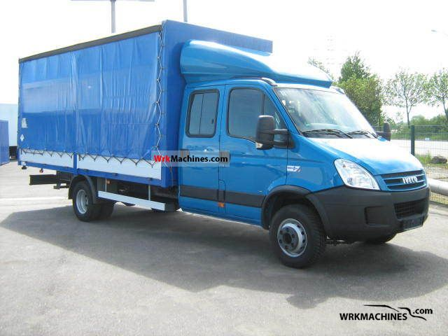 2008 IVECO Daily III 65C18 Van or truck up to 7.5t Stake body and tarpaulin photo
