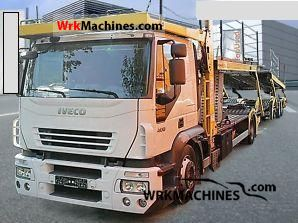2005 IVECO Stralis 190S40 Truck over 7.5t Car carrier photo