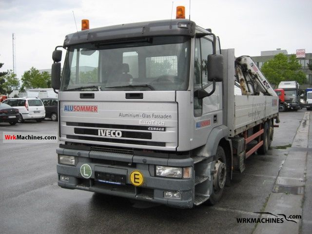 2001 IVECO EuroStar 260 E 40 Truck over 7.5t Stake body photo