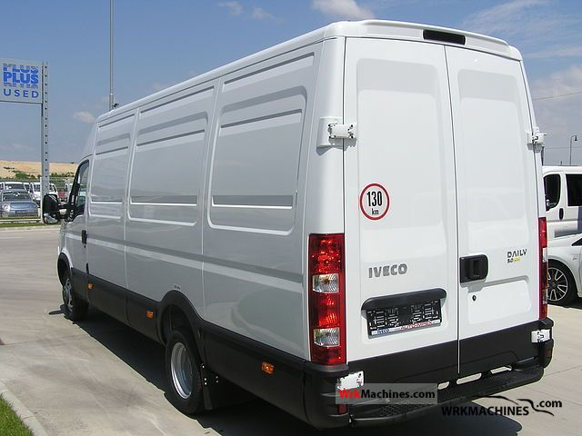 iveco daily iii 35c15 2011 box type delivery van long photos and info. Black Bedroom Furniture Sets. Home Design Ideas