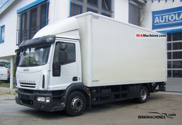 2008 IVECO EuroCargo 120 E 28 Truck over 7.5t Box photo